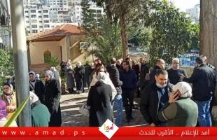 موظفو الصحة يضربون عن العمل ويعتصمون أمام مراكز الوزارة في الضفة