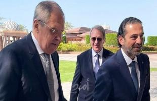 الحريري يلتقي لافروف في أبو ظبي.. وهذا ما بحثاه