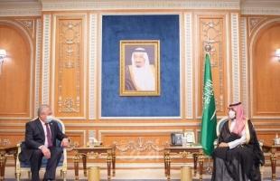 ولي العهد السعودي يلتقي المبعوث الروسي الخاص لشؤون التسوية السورية