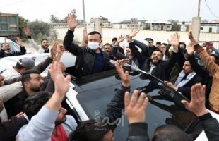 """وصول القيادي في التيار الإصلاحي """"غسان جاد الله"""" قطاع غزة"""