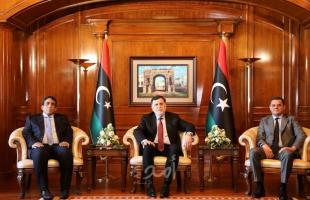 مراسم تسليم السلطة في ليبيا من حكومة السراج إلى حكومة الدبيبة - فيديو