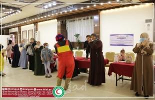 جمعية الهلال الأحمر لقطاع غزة تنفذ يوماً ترفيهياً للفتيات والسيدات