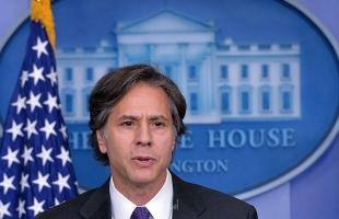 وزير الخارجية الأمريكي بلينكن  بح  مع نظيره القطري  الوضع في غزة