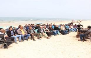 صيادو غزة يطالبون بزيادة مساحة الصيد وموازنة قطاع الصيادين