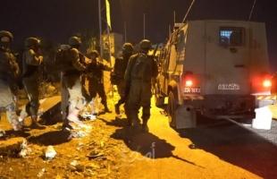 جيش الاحتلال يشن حملة اعتقالات بالضفة والقدس واندلاع مواجهات في حزمة