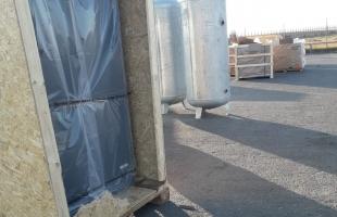 بالصور .. وصول 3 محطات لإنتاج الأكسجين إلى قطاع غزة