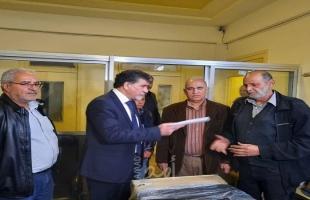 مكرمة من الرئيس عباس لمستوصف طبي في مخيم اليرموك