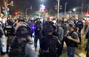 إصابة شرطيين إسرائيليين واعتقال 3 شبان فلسطينيين خلال المواجهات في يافا  -فيديو