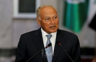أبو الغيط يطالب بالانتقال من إدارة الصراع إلى حله