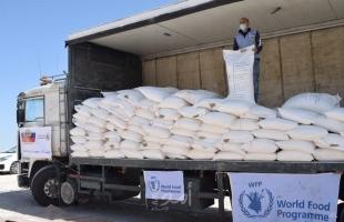 الاتحاد الروسي وبرنامج الأغذية العالمي يقدمان مساعدات غذائية للفلسطينيين المحتاجين