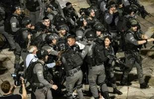 محدث - 20 إصابة في مواجهات مع شرطة الاحتلال بالقدس المحتلة - فيديو