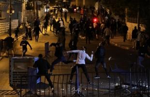 محدث - الهلال الاحمر  12 اصابة خلال مواجهات مع قوات الاحتلال في القدس