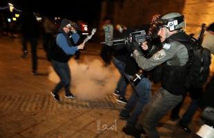 """""""#القدس_تنتفض"""".. ومظاهرات في الضفة وغزة دعما للمقدسيين - صور وفيديو"""