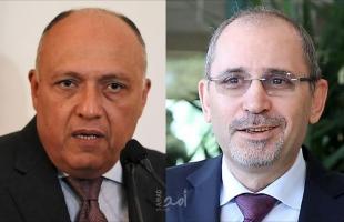 وزير الخارجية المصري يستقبل الصفدي لتعزيز العلاقات الثنائية