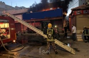 الدفاع المدني: طواقمنا تعاملت مع (59) حادث خلال 24 ساعةبالضفة الغربية