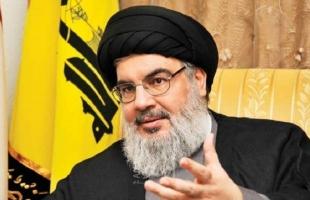 """""""حزب الله"""" يكشف عن مستجدات صحة نصرالله"""