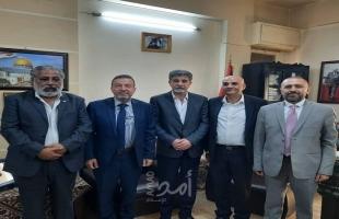 عبد الهادي يستقبل وفد من الحزب السوري القومي لإطلاعهم على التطورات الأخيرة بالقدس