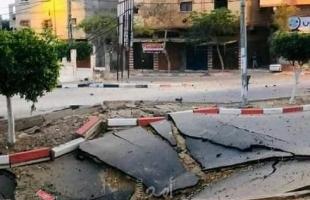طيران الاسـتطلاع يطلق صـاروخ على منزل  في الحي الاماراتي بمدينة خانيونس