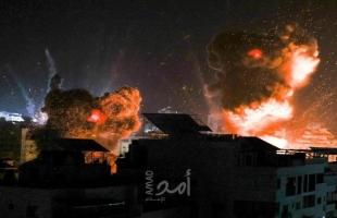 طائرات الاحتلال تقصف عدة مواقع عسكريًة في قطاع غزة..والفصائل ترد