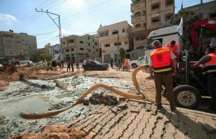 بلدية غزة: قصف الاحتلال الليلة الماضية يتسبب بقطع المياه عن 20 % من سكان المدينة