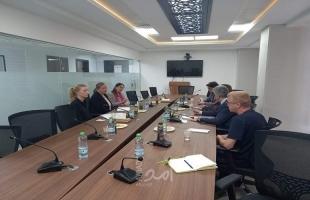 مجدلاني يدعو دول أمريكا اللاتينية المشاركة بالجهود الدولية لإعادة اعمار غزة