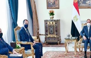السيسي يؤكد لــ  خارجية قبرص أهمية سرعة إحياء مفاوضات السلام على أساس حل الدولتين
