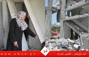 """تهجير السكان من منازلهم وحرمانهم من فرحة """"عيد الفطر"""" - فيديو"""