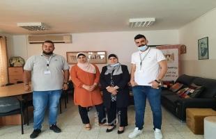 نابلس: الشيخ خليفة وشركة فيتاس يبحثان سبل تمكين الطلاب بمشاريع صغيرة