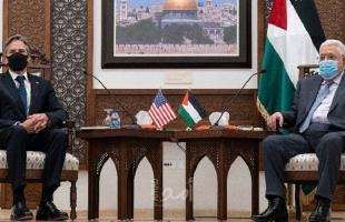 عباس: الانتخابات حال موافقة إسرائيل عليها في القدس وبلينكن: ملتزمون بحل الدولتين