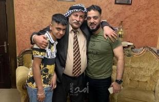 """""""الشيوخي"""" يستقبل الأسير المحرر ربيع أيو ليل بعد قضاء (14) عام في سجون الاحتلال"""
