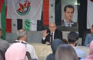 فهد سليمان: وحدة المواجهة هزمت العدو في الميدان والسياسة