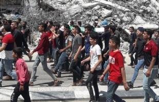 """تشييع جثمان الشهيد """"يحيى العجلة"""" في غزة- فيديو وصور"""