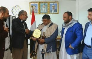 وكالة: تكريم حركة حماس لقيادي حوثي يثير استياء واسعًا في اليمن - فيديو