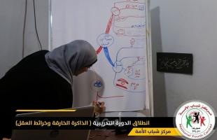 مركز شباب الأمة يطلق الدورة التدريبية (الذاكرة الخارقة وخرائط العقل)