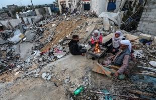 نازحو غزة عالقون في خيام أمام منازلهم بلا مأوى