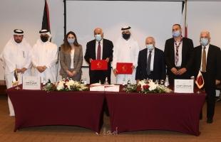 الرجوب يوقع اتفاقية للتعاون المشترك مع جمعية الكشافة والمرشدات القطرية