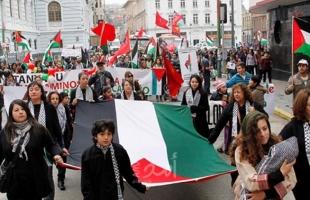 """""""المعلمين الأمريكية"""" تناقش الاعتراف بفلسطين واتهام إسرائيل بالتطهير العرقي"""