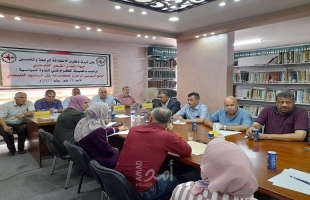 جبهة النضال تدعو إلى الوحدة الوطنية والشراكة السياسية واعتماد برنامج وطني شامل