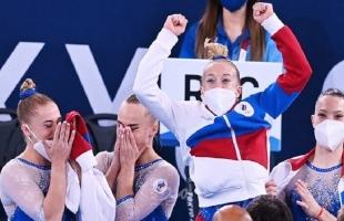 روسيا تحرز ذهبية الجمباز لفرق السيدات في الأولمبياد للمرة الأولى في تاريخها