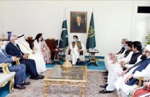 """باكستان والبرلمان العربي يبحثان """"القضية الفلسطينية"""" والأمن الاقتصادي ومواجهة الإسلاموفوبيا"""