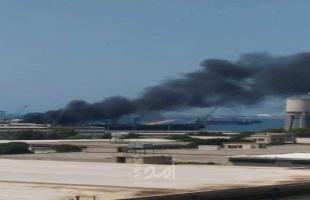 نجاح جهود إخماد حريق داخل مستودع في لبنان