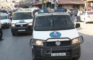 شرطة جنين تقبض على شخصين مشتبهٍ بهما بالحرق الجنائي