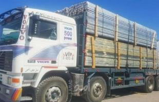 غزة: إدخال شاحنة محملة بقطع غيار مستعملة عبر معبر كرم أبو سالم