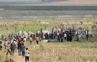 """إصابات برصاص قوات الاحتلال خلال مهرجان ذكرى """"إحراق الأقصى"""" صور"""