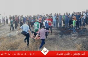 رغم قرار المنع الأمني.. إصابات بالرصاص بينها خطيرة في مهرجان شرق غزة- فيديو وصور