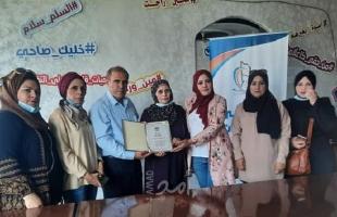 """لجنة الجندر بنقابة الصحافيين الفلسطينيين تنظم زيارة لملتقى """"إعلاميات الجنوب"""""""