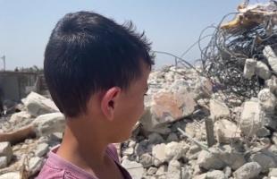 """قوات الاحتلال تجبر عائلة """"الدلال"""" على هدم منزلها بنفسها في القدس-  فيديو وصور"""