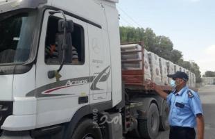 سلطات الاحتلال تسمح بإدخال مواد بناء لغزة عبر كرم أبو سالم