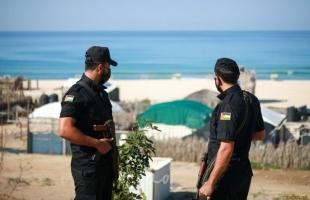 """شرطة حماس البحرية في رفح تضبط """"10"""" كيلو سمك فاسد"""