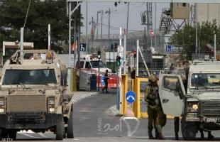 """إسرائيل تقرر تمديد إغلاق الأراضي الفلسطينية حتى""""السبت"""""""